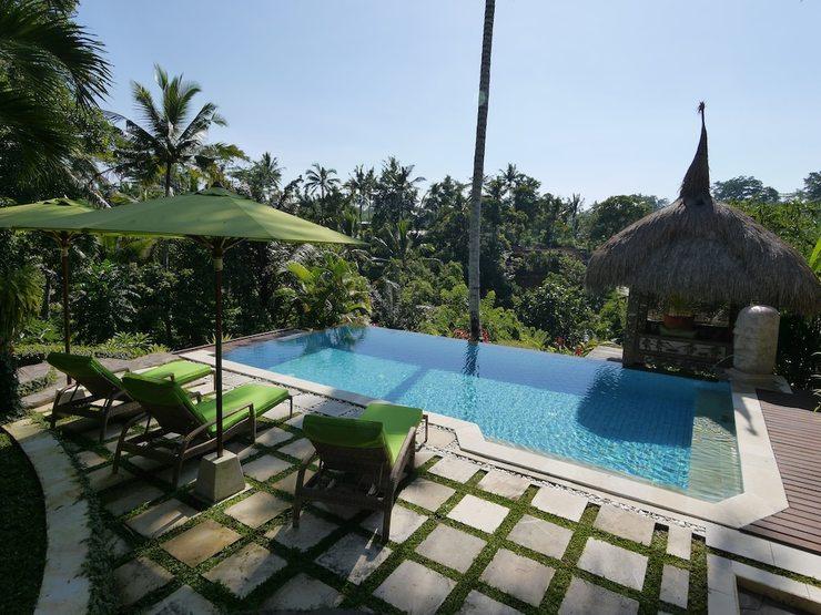 Villa Kupu-Kupu Ubud - Outdoor Pool