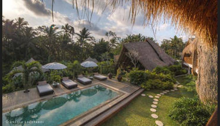 Sandat Glamping Tents Ubud - Outdoor Pool