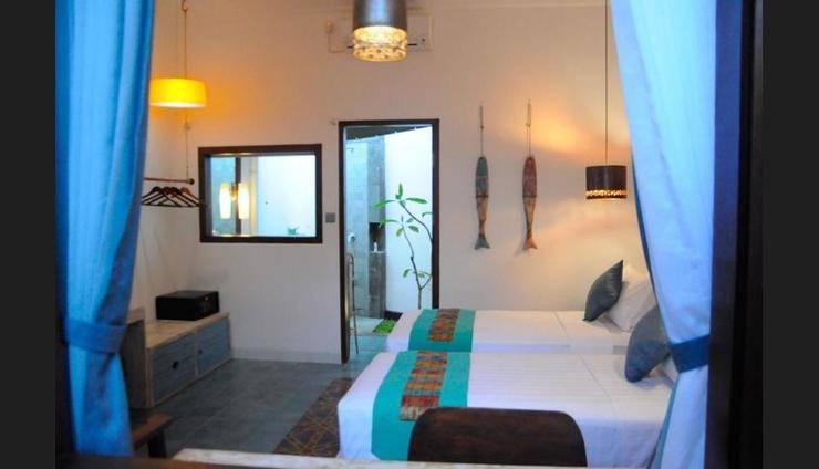 Jali Resort - Gili Trawangan Lombok - Guestroom