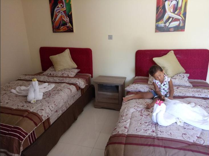 Villa Yukie Senggigi Lombok - Guestroom
