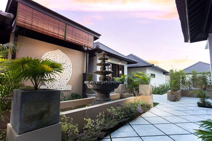 Solo Villas and Retreat Bali - Porch