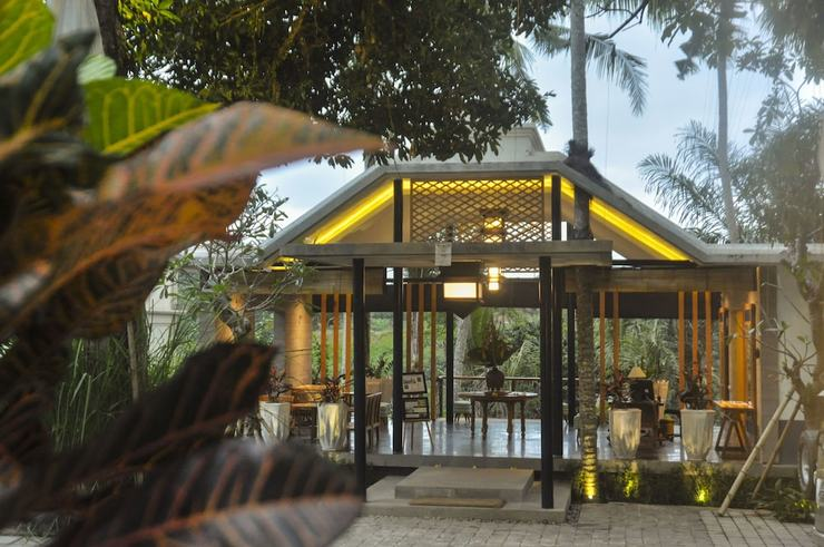 Amora Ubud Boutique Villas Bali - Lobby Lounge