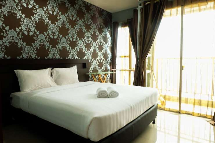 1 BR Thamrin Residence City View By Travelio Jakarta - Featured Image