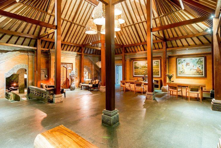 Ulun Ubud Resort and Spa Bali - Lobby Sitting Area