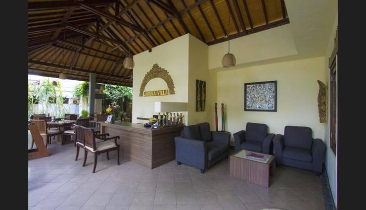 Ladera Villa Ubud - Lobby Sitting Area