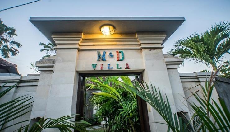 M and D Villa Seminyak Bali - Exterior