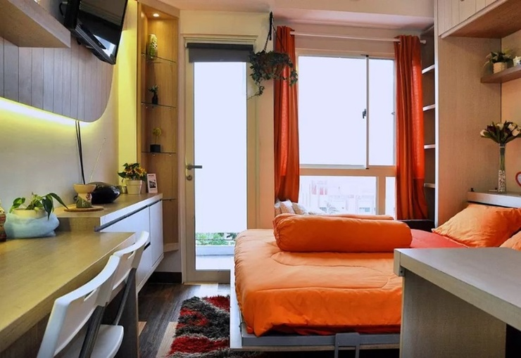 D' Rooms at Scientia Gading Serpong Tangerang - Room