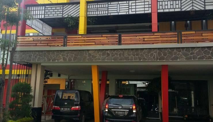 JNJ Front One Hotel Lahat Lahat - fasad depan