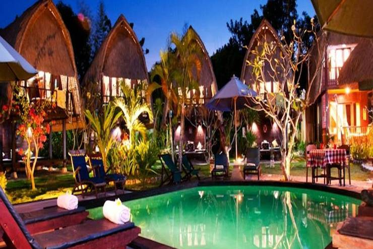 Nanuks Bungalows Bali - Kolam Renang