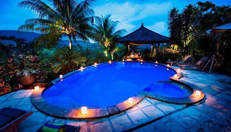 Cepik Villa Sidemen Bali - Kolam Renang