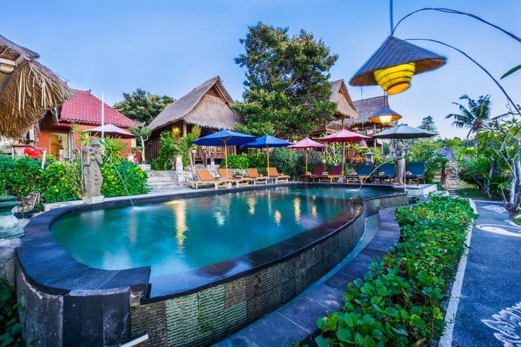The Dafish Ceningan Bali - Facade