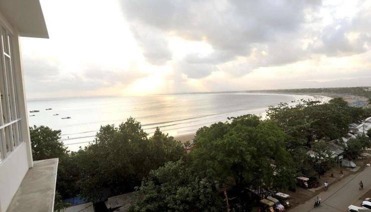 Laut Biru Resort Hotel Pangandaran - View