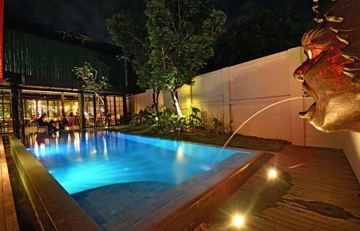 Sama Sama Suites & Restaurant Bali - Pool