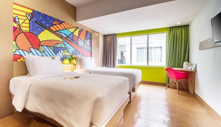 MaxOneHotels at Resort Delia Makassar - Max Happiness Twin