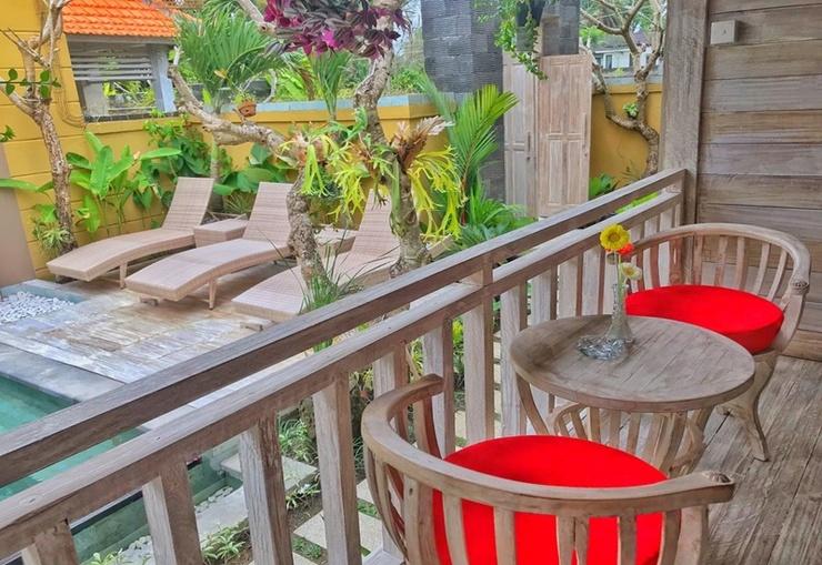 Sri Permana Deluxe Bali - Balcony