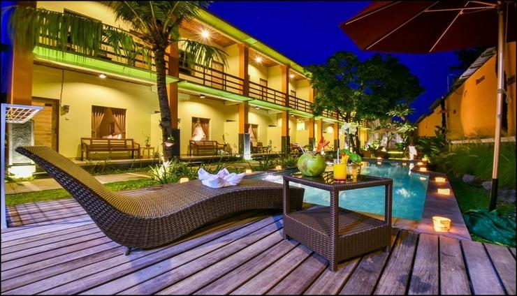 The Rani Garden Bed & Breakfast Bali - exterior