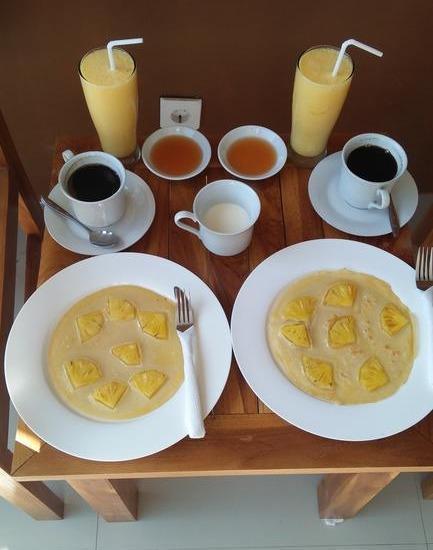 Siesta House Lombok - Meals