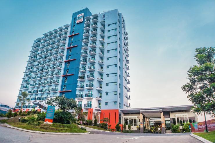 Marbella Hotel Dago Bandung - main building