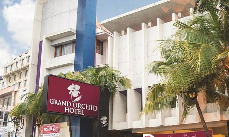 Grand Orchid Solo - Tampilan Luar Hotel