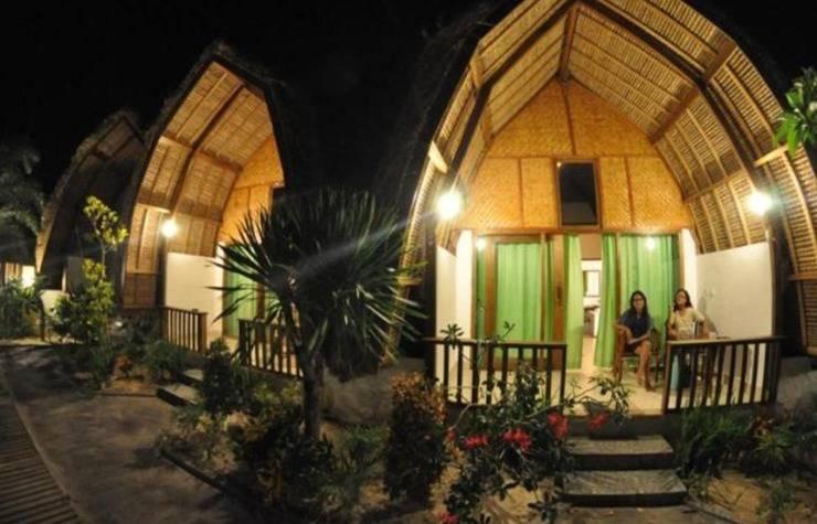Krisna Bungalow and Restaurant Lombok - Lumbung bungalow