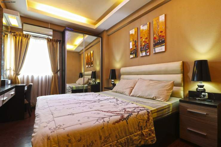 The Suites Metro Apartment By King Property Bandung - Bedroom