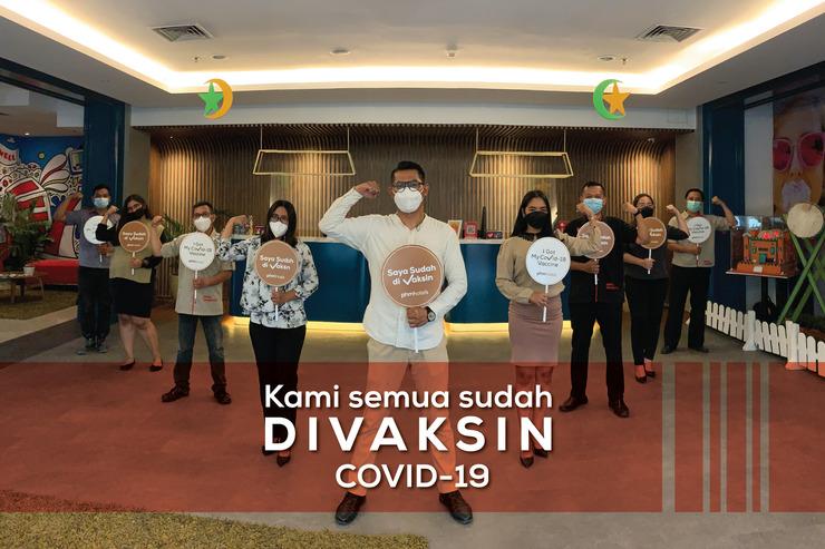 1O1 URBAN Jakarta Kelapa Gading (The BnB) Jakarta - Staff vaksin