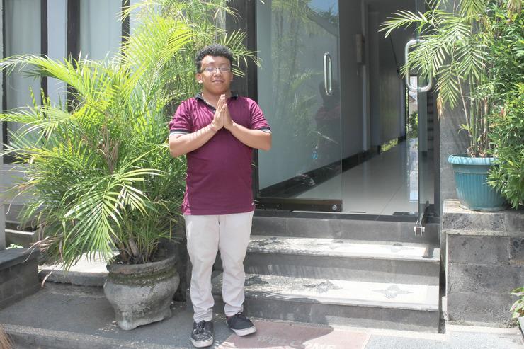 Airy Denpasar Utara Cokroaminoto 56 Bali - Entrance