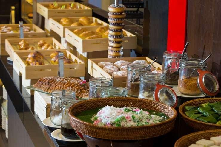Hotel Santika Medan Medan - Breakfast buffet