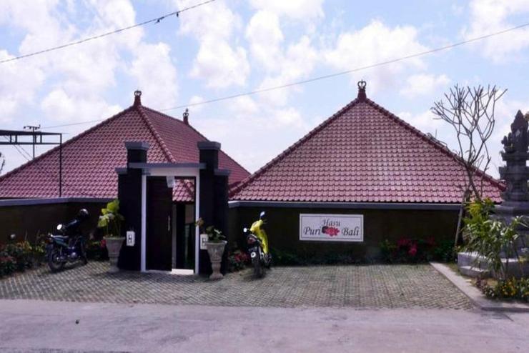 Puri Hasu Bali Bali - entrance