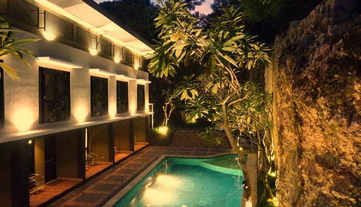 White Rock Lodge Bali - Kolam Renang