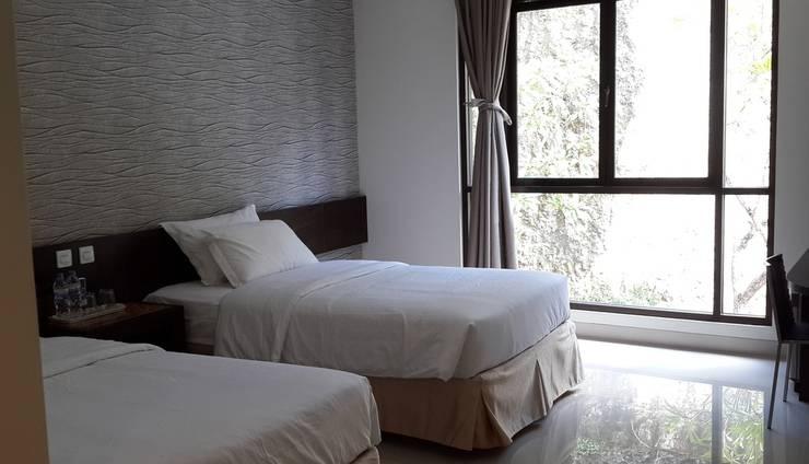 White Rock Lodge Bali - Deluxe View twin