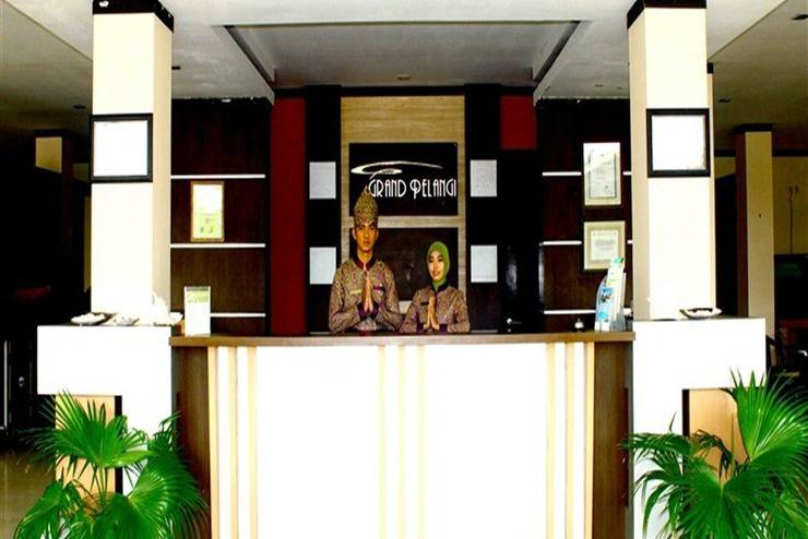 Hotel Grand Pelangi Belitung - Resepsionis