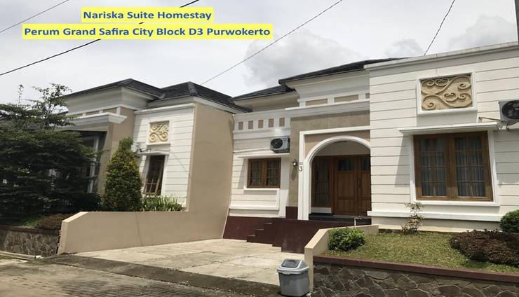 Nariska Suite Homestay Purwokerto - Exterior