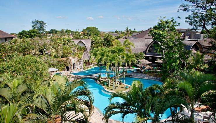Hotel Vila Lumbung Seminyak - Kolam Renang