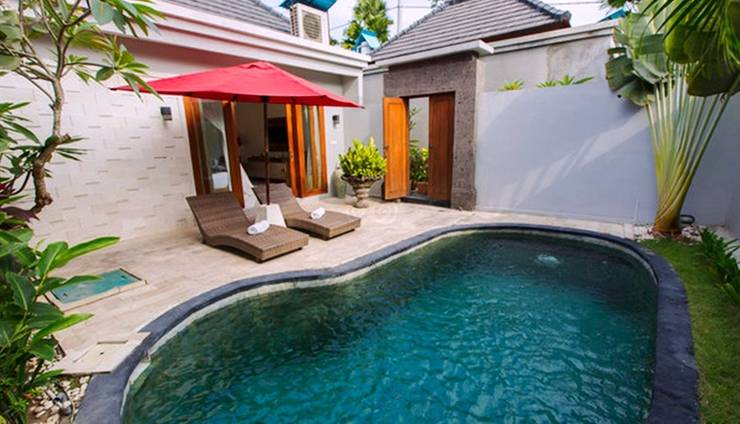 The Widyas Luxury Villa Bali - Exclusive One Bedroom Private Pool