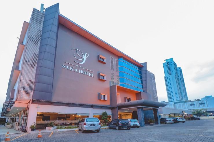 Saka Hotel Medan - New Facade