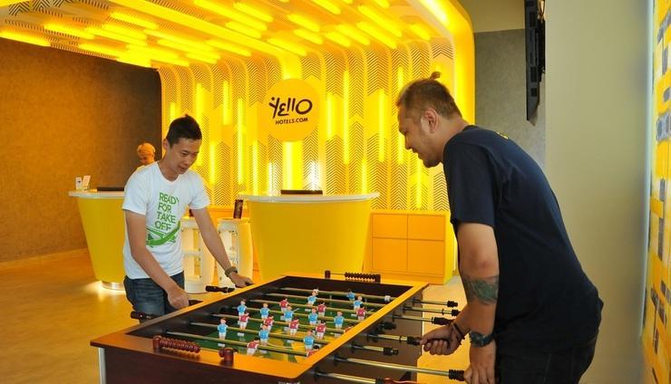 Yello Hotel Paskal Bandung Bandung - Game station