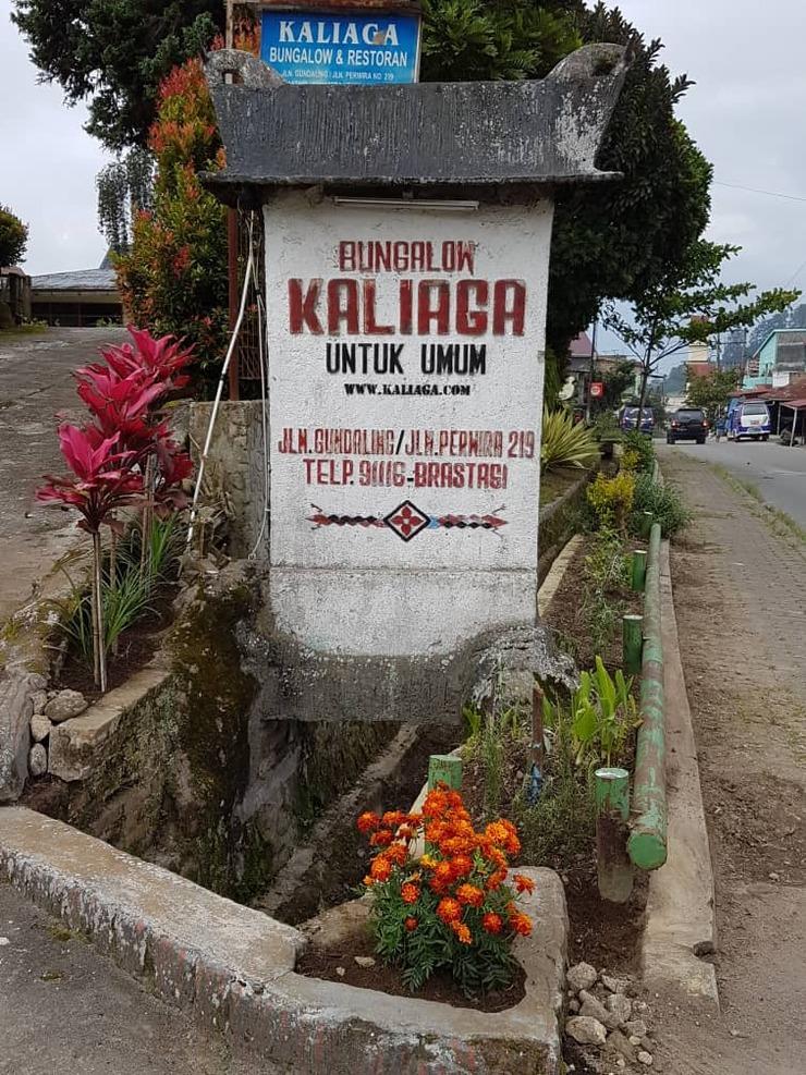 Kaliaga Bungalow Karo - Exterior