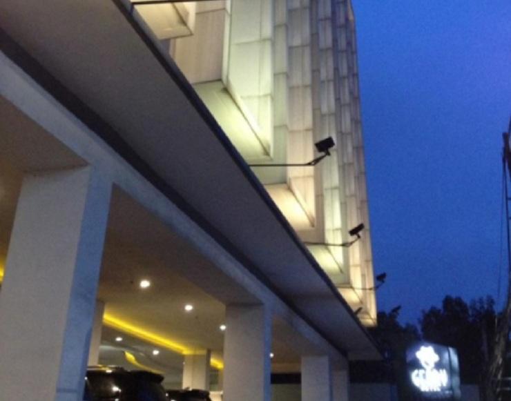 Geary Hotel Bandung Bandung - Depan