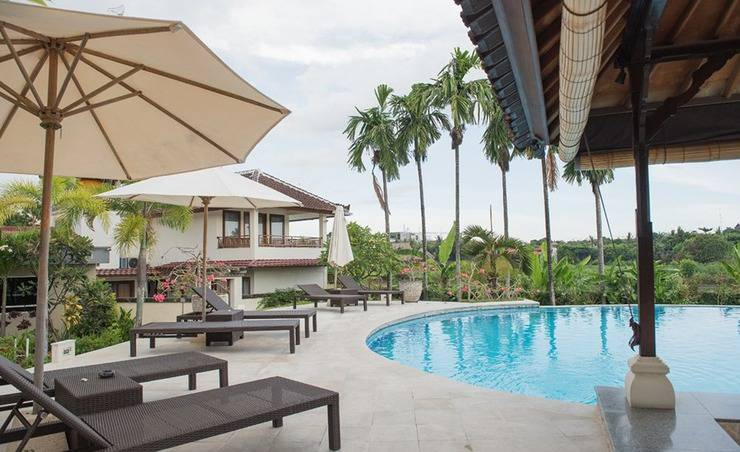 RedDoorz near Batu Belig Beach Bali - Kolam Renang