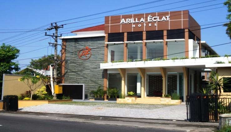 Arilla Eclat Hotel Yogyakarta - Facade