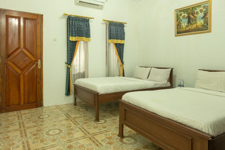 Ms Hotel Pangandaran Pangandaran - standard twin bedroom