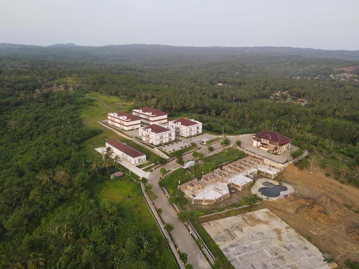 Asoka Resort Banten Pandeglang - Tampak atas Asoka Resort Banten 2
