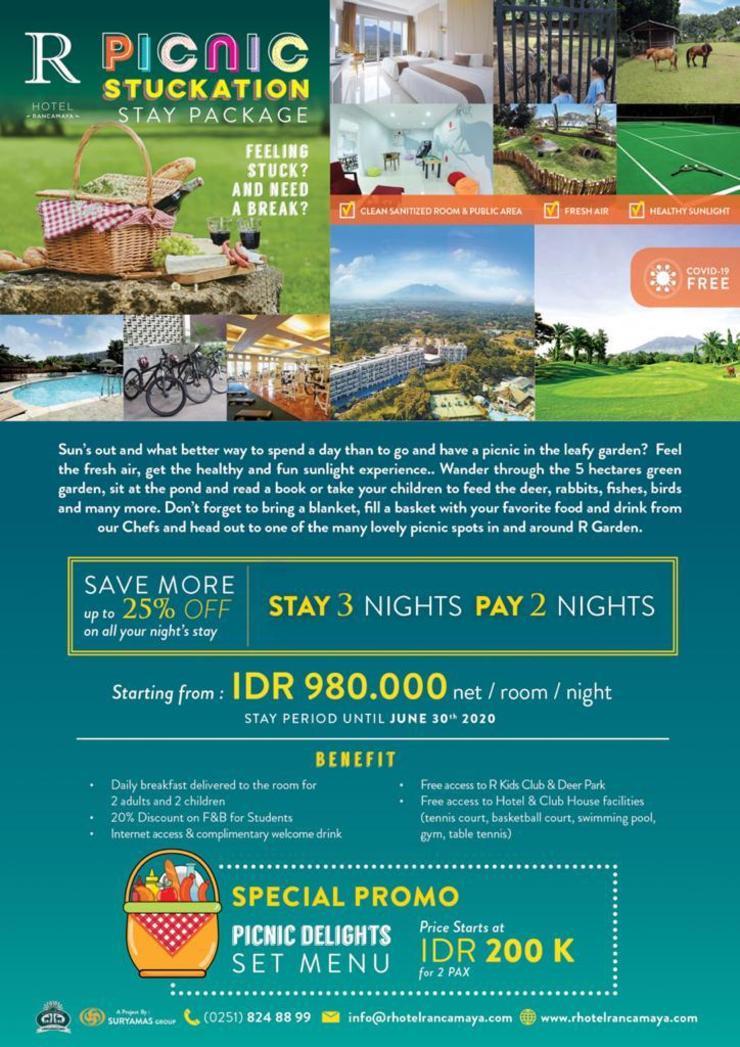 R Hotel Rancamaya Bogor - Stucktation Package