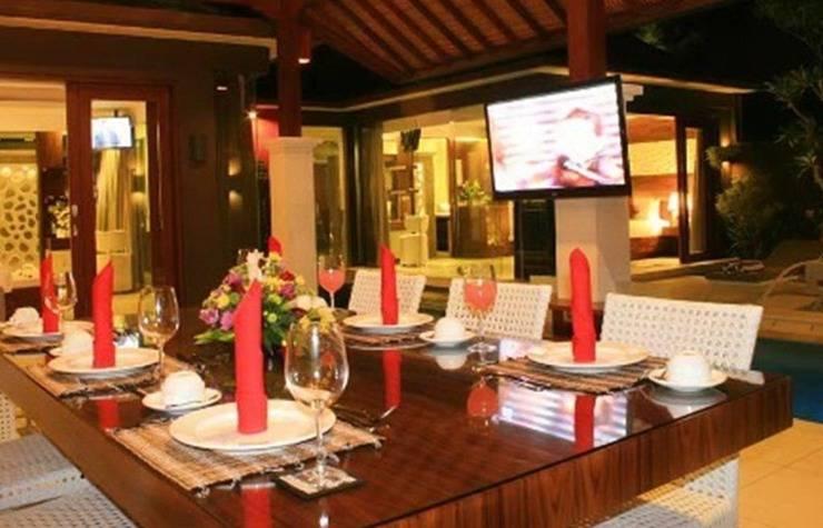 Ava Villa Bali - Ruang makan