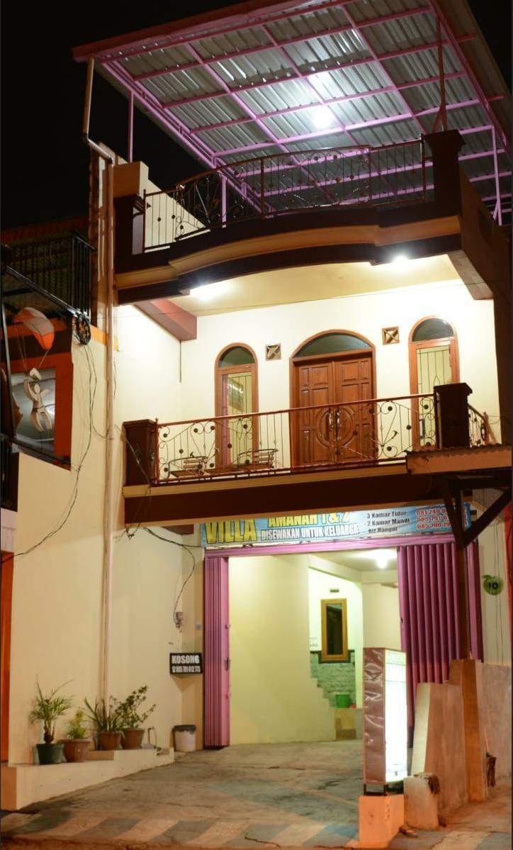 Villa Amanah Malang - Tampak Depan