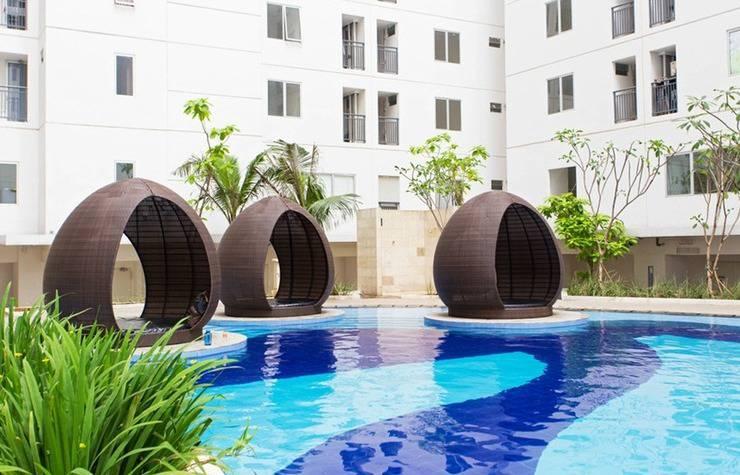RedDoorz Apartment @Bassura Cipinang Jakarta - Kolam Renang
