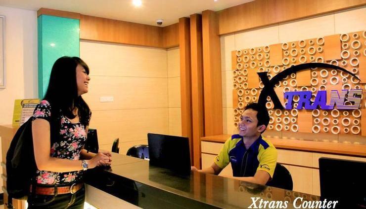 De Batara Hotel Bandung - Xtrans Counter