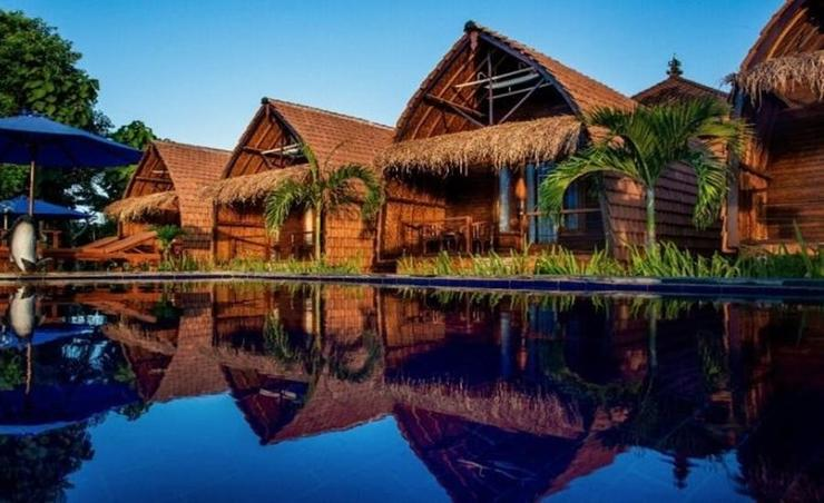 Sundi Ocean Bungalow Bali - Facade