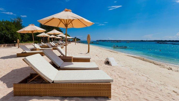 Pearl of Trawangan Resort Lombok - Sundeck